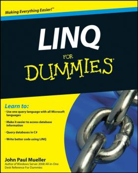 Читать LINQ For Dummies - John Mueller Paul