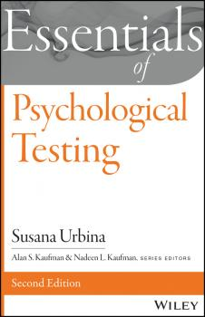 Читать Essentials of Psychological Testing - Susana  Urbina
