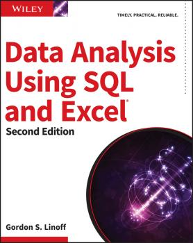 Читать Data Analysis Using SQL and Excel - Gordon Linoff S.