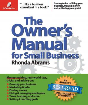 Читать The Owner's Manual for Small Business - Rhonda  Abrams