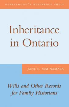 Читать Inheritance in Ontario - Jane E. MacNamara