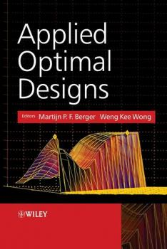Читать Applied Optimal Designs - Weng-Kee  Wong